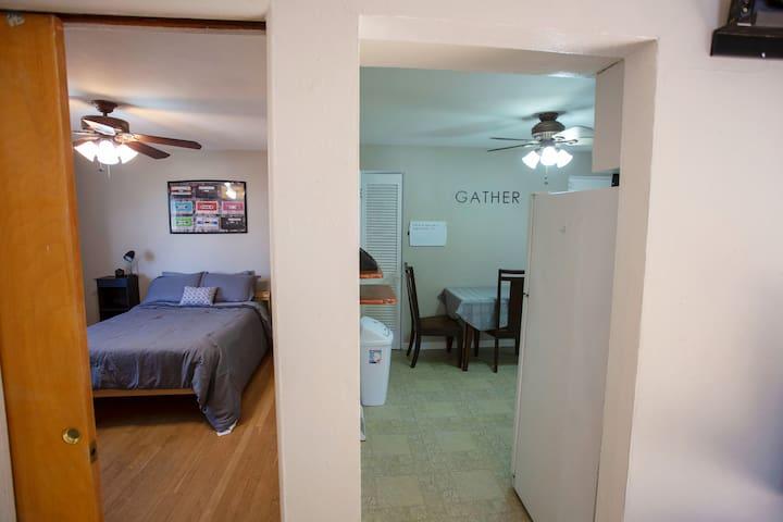 Private Bedroom with Pocket Door