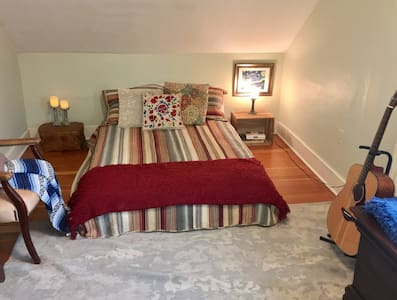 Bright, cozy room near UW hospital - Мэдисон - Дом