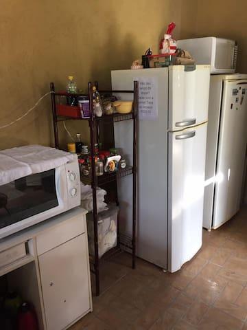 Quarto coletivo para até 10 pessoas - Cavalcante - Hostel