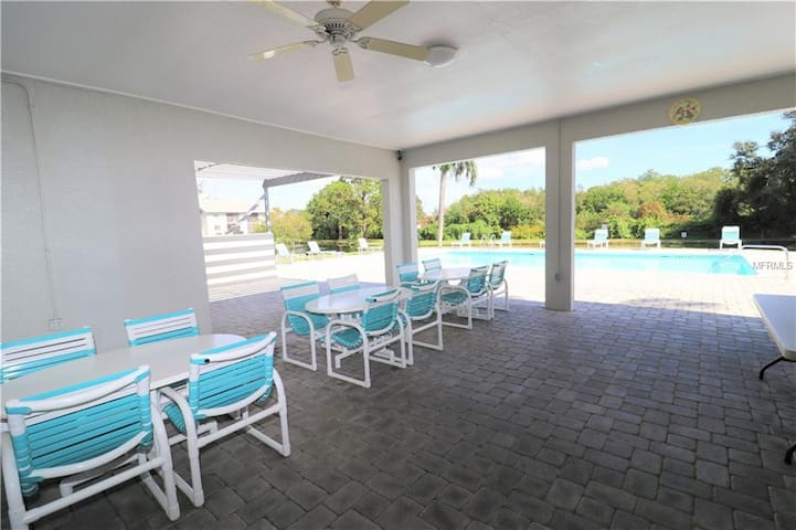 Two bedrooms two  bathrooms furnished  condo