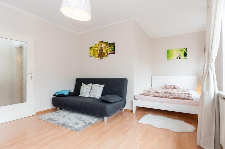 Room Apartment Flat 26qm for 1-3Per