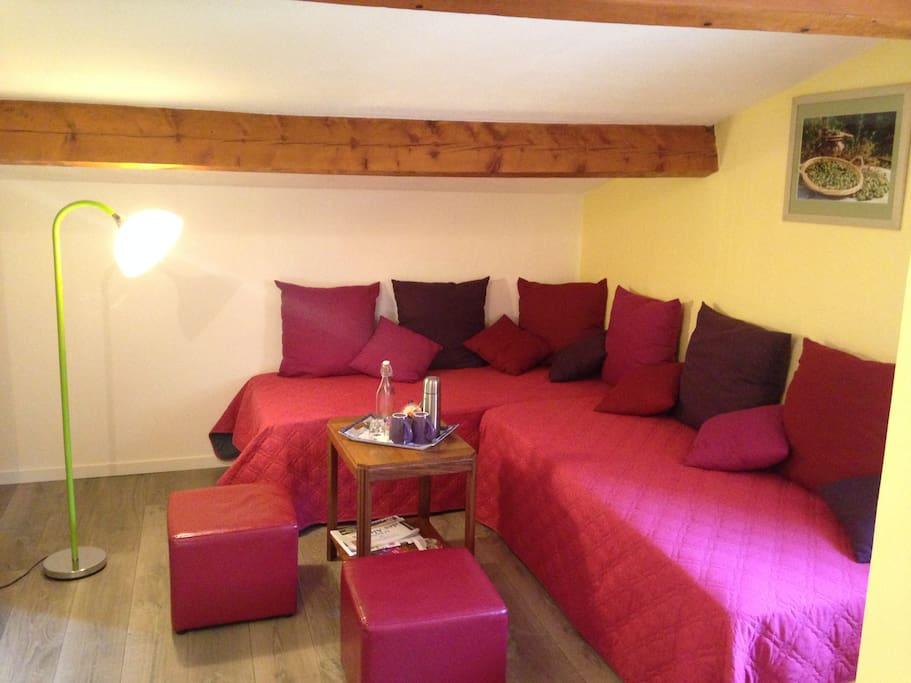 B b les lavandes villa montagnette chambres d 39 h tes - Le bon coin location salon de provence ...