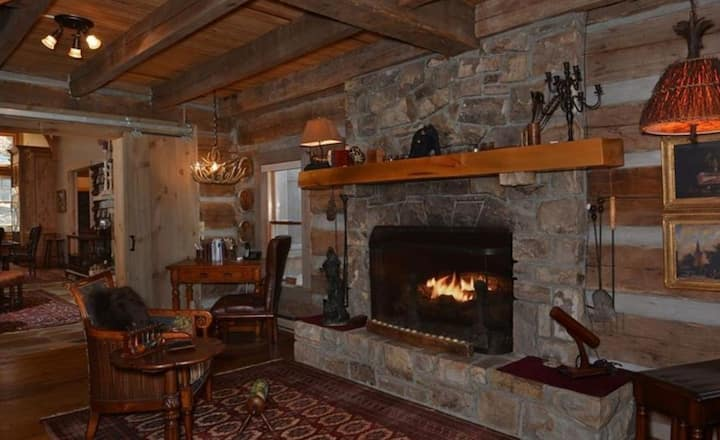 Escape in Unique Luxury at Historic Old Log Mill