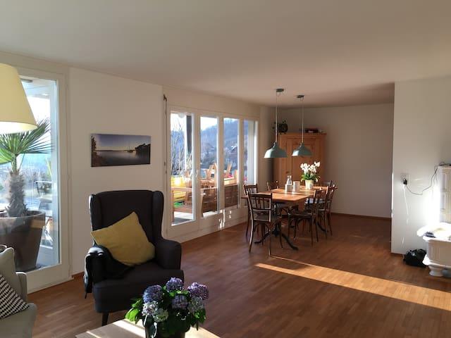 Terrassenwohnung mit schönem Ausblick