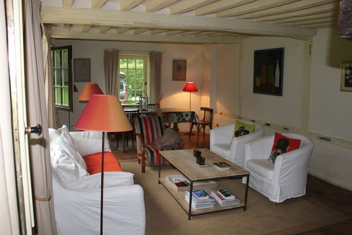Maison de charme Normandie - Morainville-Jouveaux - Apartament