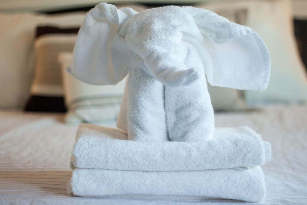Fresh towels for all guest.