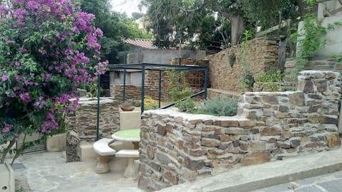 Loue appartement avec jardin et BBQ