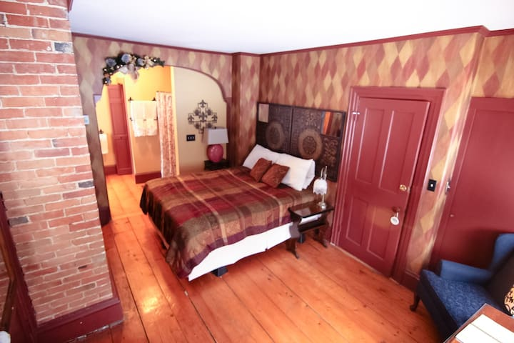 Paris Room in the Admiral Peary Inn B & B