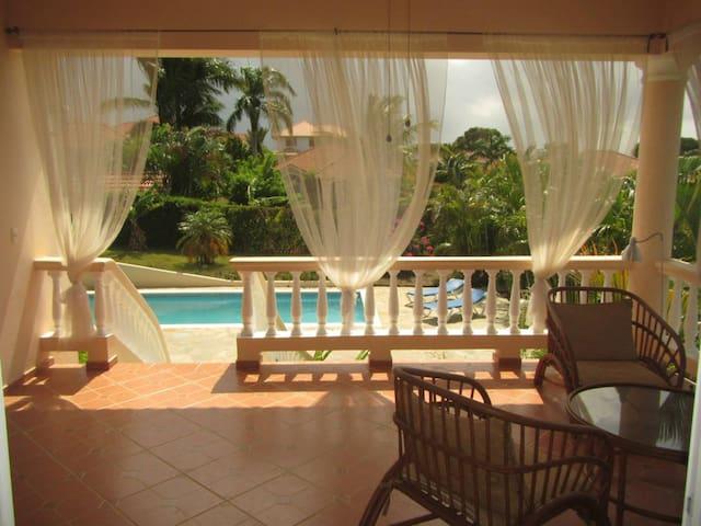 4BD Guest-Friendly Central Villa, Private Pool! - Sosúa - Villa