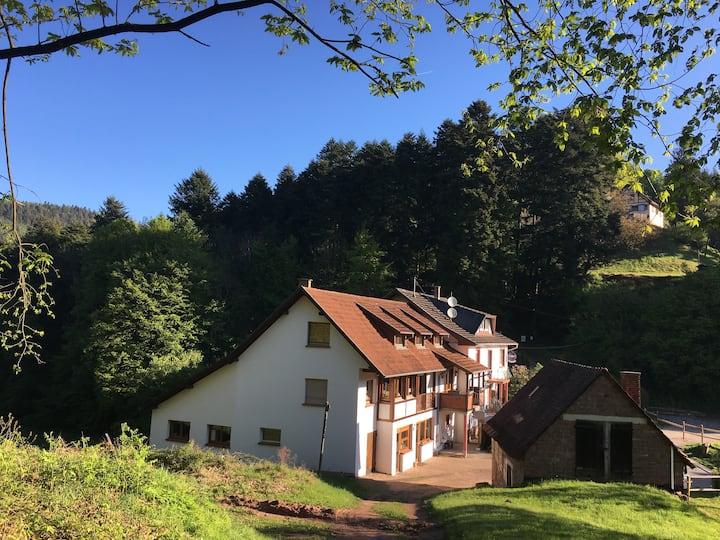 Grande maison avec vue aux pieds des Châteaux