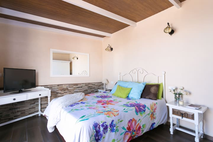Bright Attic / Huge terrace with views - La Victoria de Acentejo - Daire