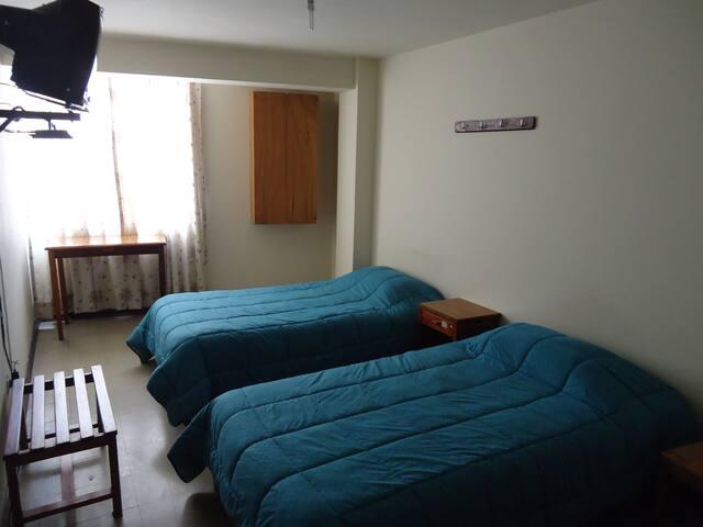 Habitaciòn twin en Lima