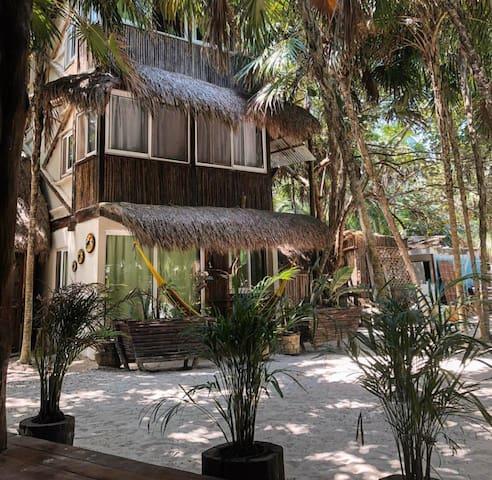 Rustic Cabañas on the beach - Jardín view (3)