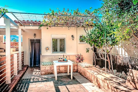 Garden Room, 50 meter fra stranden, unik eiendom.