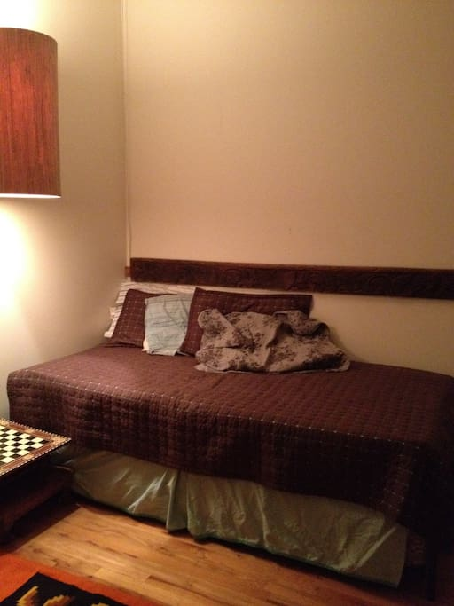 Optional Bedroom with trundle bed.