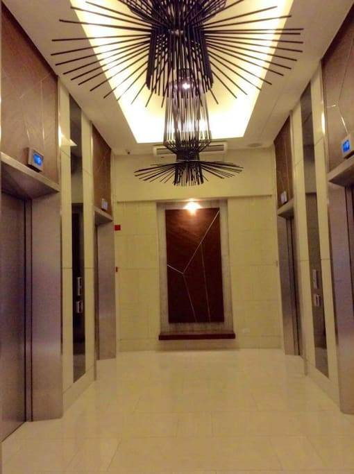 Actual Photo of Elevators Area
