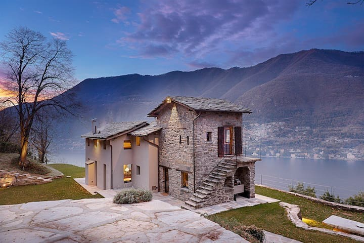 VILLA TORNO - Lake Como unique view - Torno - Villa