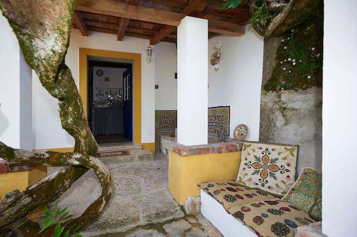 Vintage chic romantic cosy cottage