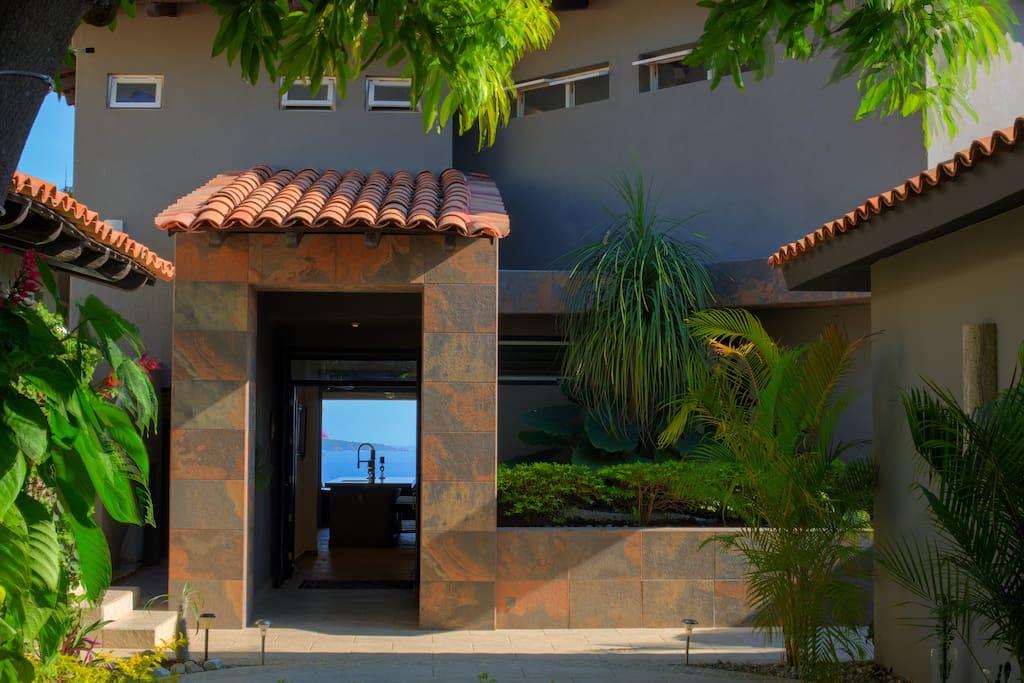 Architecturally designed home