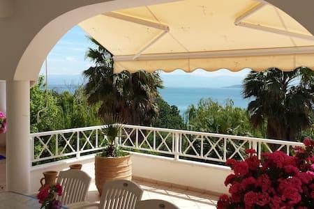 Ländliche Villa mit Meeresblick - Preveza - Haus