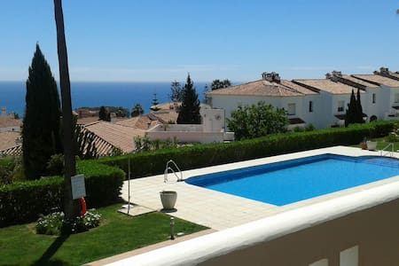 Manilva apartment with Stunning sea view