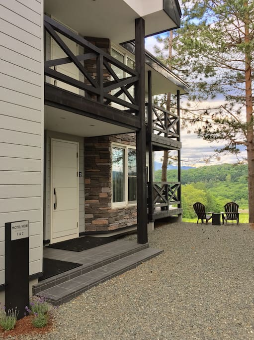 Each Furano Loft enjoys its own, separate and private access.