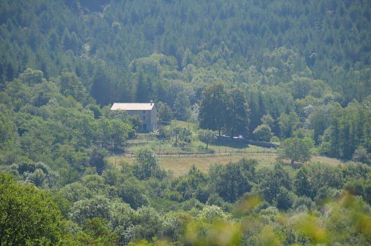 Mas de Probedonnes avec vue sur le Canigou - Saint-Laurent-de-Cerdans - Casa