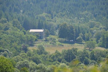 Mas de Probedonnes avec vue sur le Canigou - Saint-Laurent-de-Cerdans