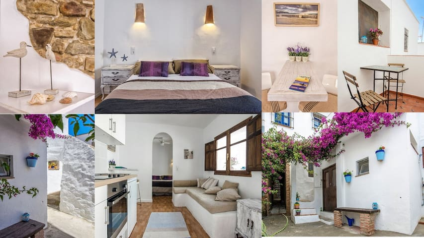 Apt Poniente Old Town Terrace Wifi - Tarifa - Appartement