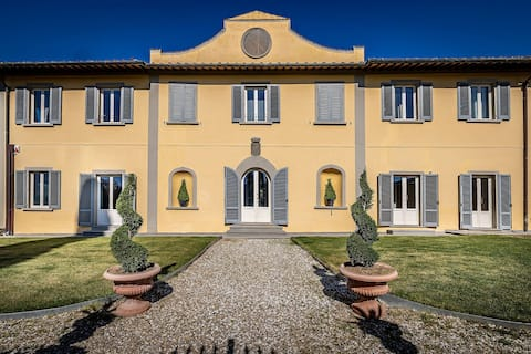 YiD Villa Tolomei Gucci - apt3 with swimming pool