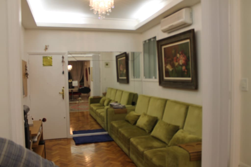 Sala 1 - Home Theater com ar-condicionado Split