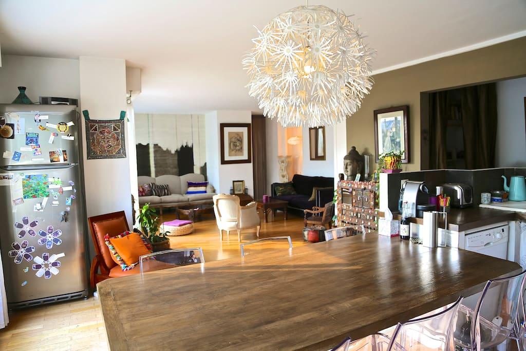 Paris avec terrasse id al famille appartements louer for Ideal paris