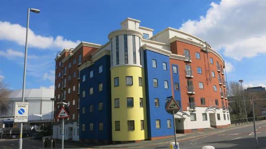 City Centre private bed + bathroom & parking - Birmingham - Apartament