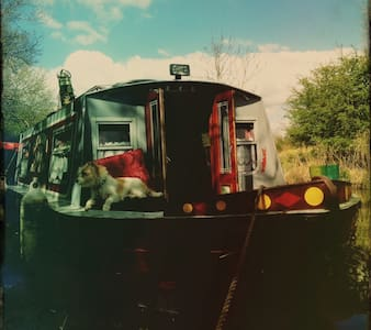 Cosy quirky rustic boat near the regents canal - Londres