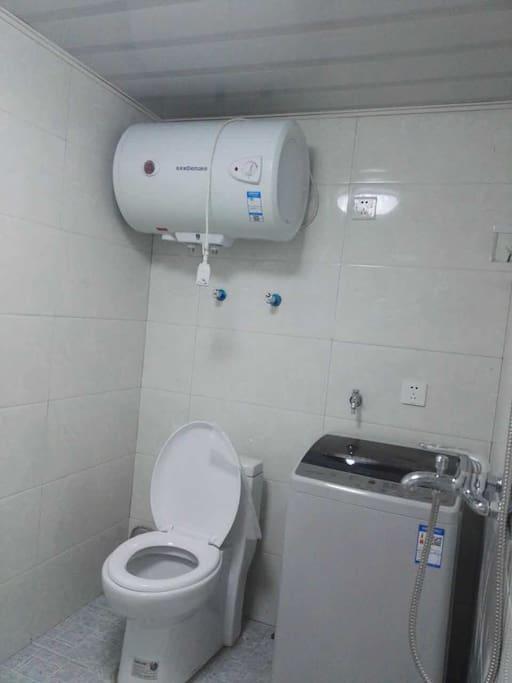 洗手间设施齐全