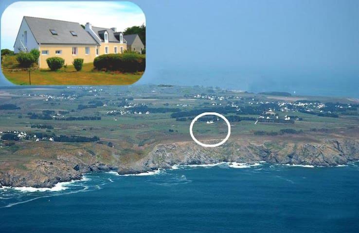 Appart/ gîte vue sur lande et mer - Locmaria - Apartmen