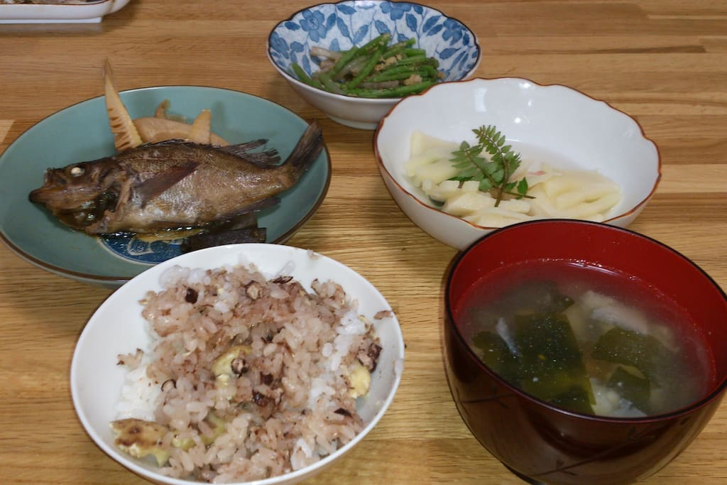 tipical japanese dishes