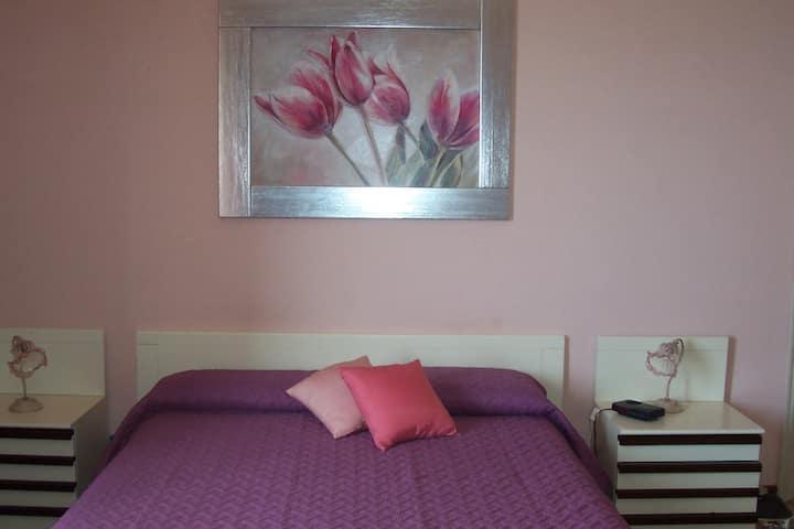 la camera rosa è una quadrupla