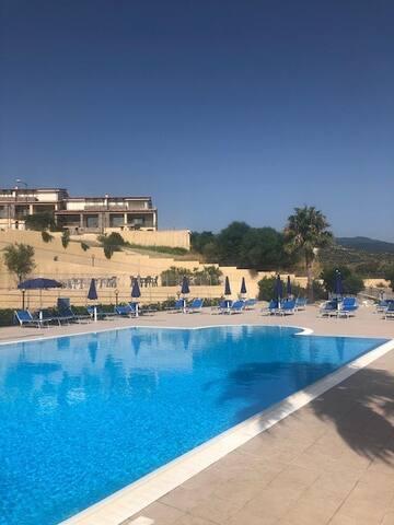 Villa with unique view, close to sea,pool,tennis.