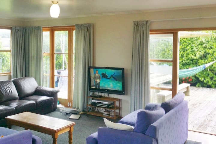 ❤️Warm Seaside Studio Near Taranaki Attractions