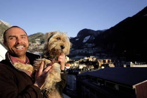 Estudio Para 3 personas WIFI  . Encamp . Andorra.