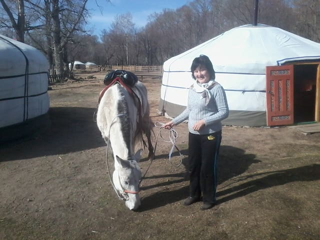 Mongolian national Ger .