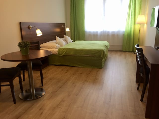 Long stay, cool price, flat at metro station /42 - Prag - Daire