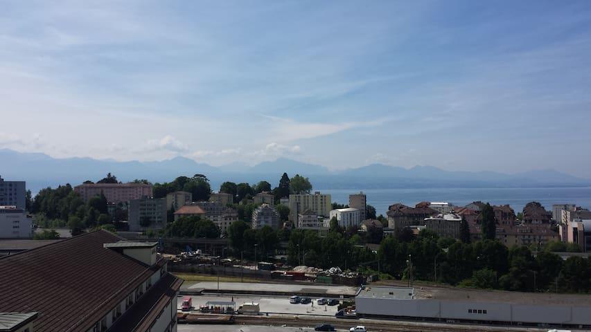 Lausanne great lake views - Lausanne - Lägenhet