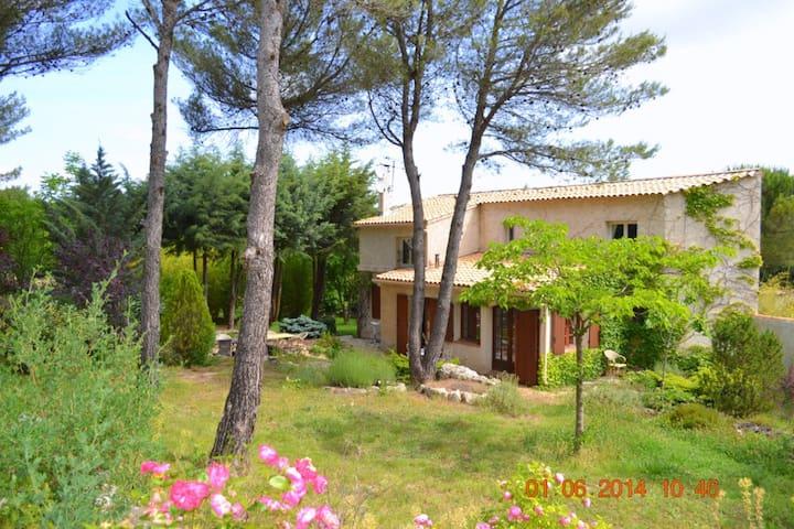 CASA AMANDA 5 bedroom villa up to 12p Pool & View - Mimet - Haus