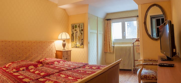 Rooms in a big villa  with garden in center town