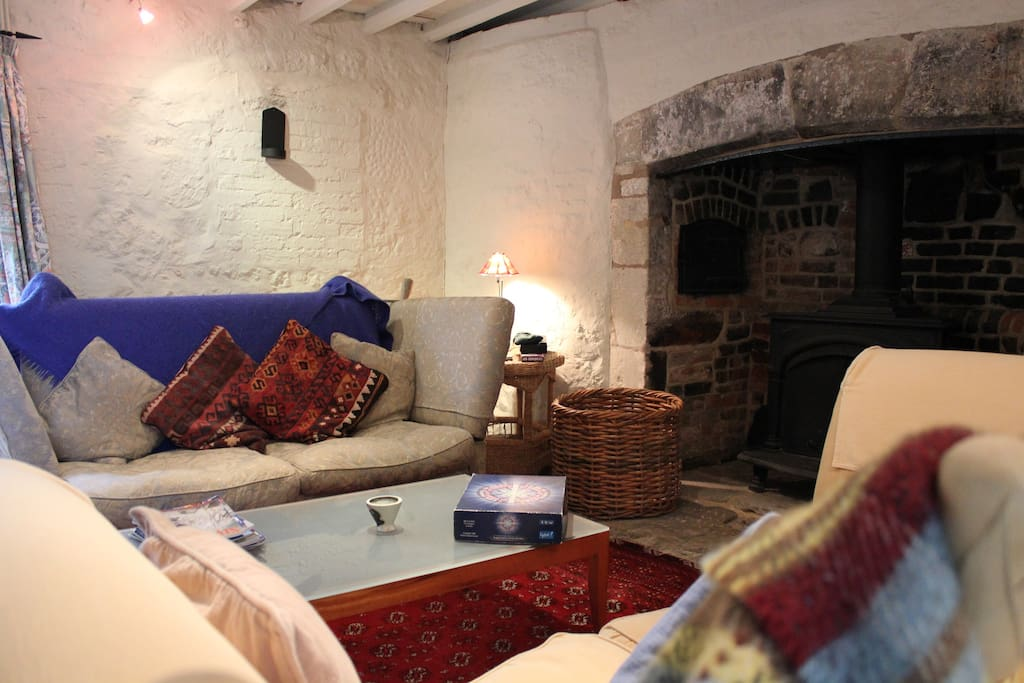 Guests Sitting-Room with Open Fire