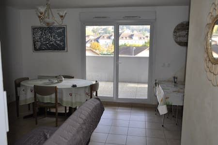 Appartement T2 au RDC vue sur le Mont des Princes