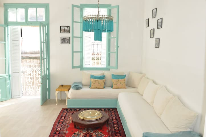 Old medina flat with mezzanine - Tanger - Appartement