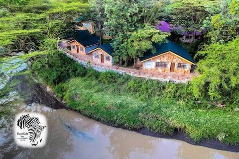 Riverside stay at Masai Mara